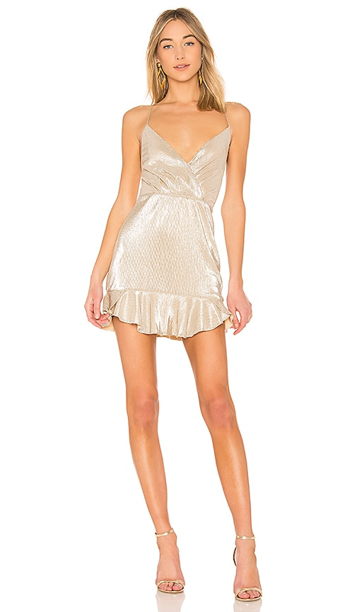 NBD Marilyn Dress in Silver | REVOLVE