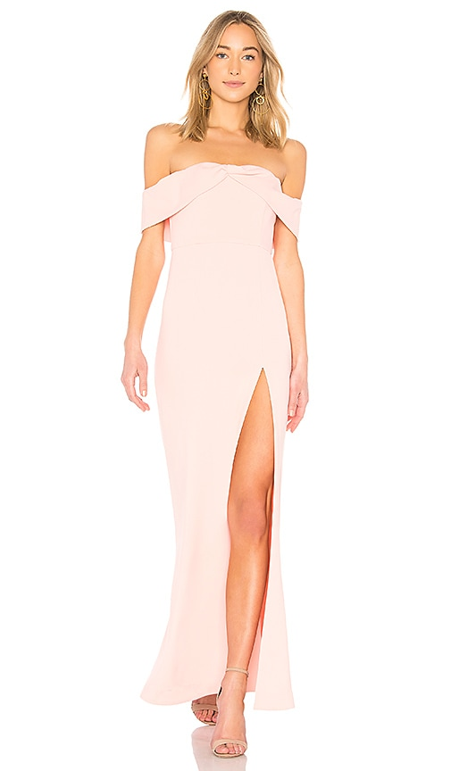 NBD Mas Besos Gown in Baby Pink | REVOLVE