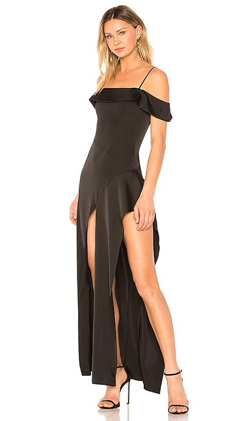 Estrella Gown in Black. - size M (also in L,S,XS,XXS) Lovers + Friends