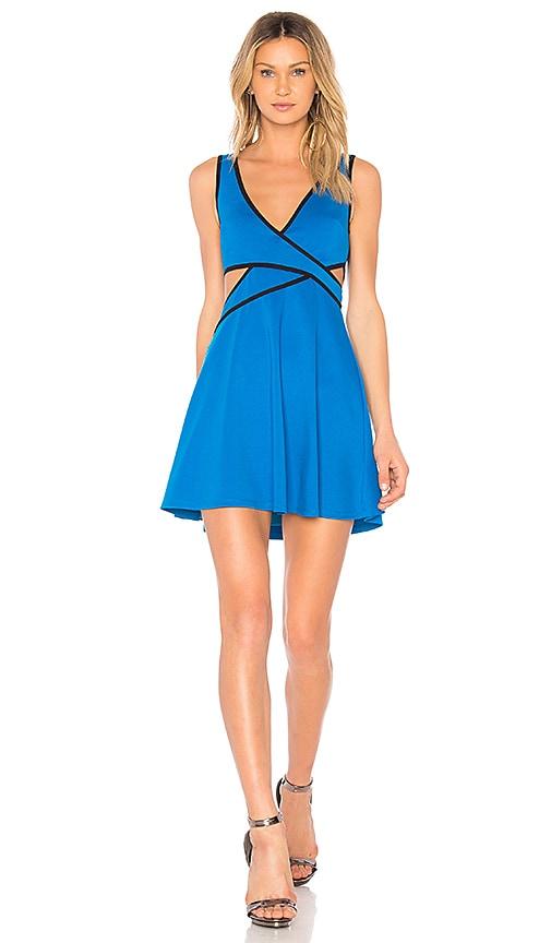 NBD Own It Dress in Blue
