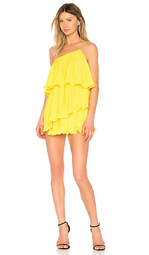 NBD Girlfriend Material Dress in Yellow