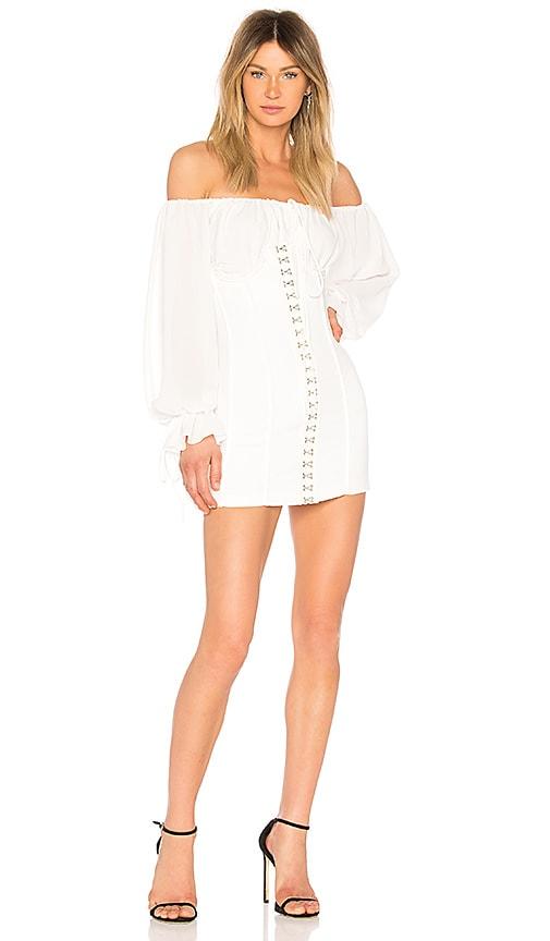 NBD Anastasia Dress in Ivory