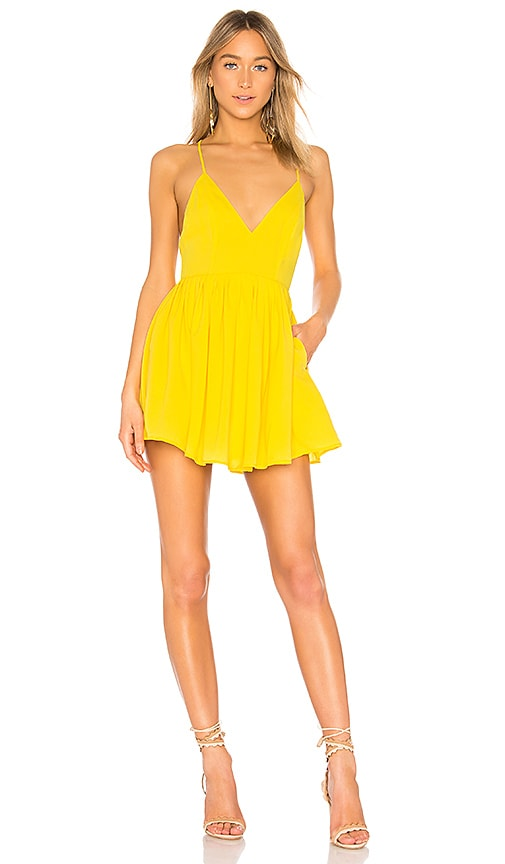 NBD Suki Mini Dress in Marigold