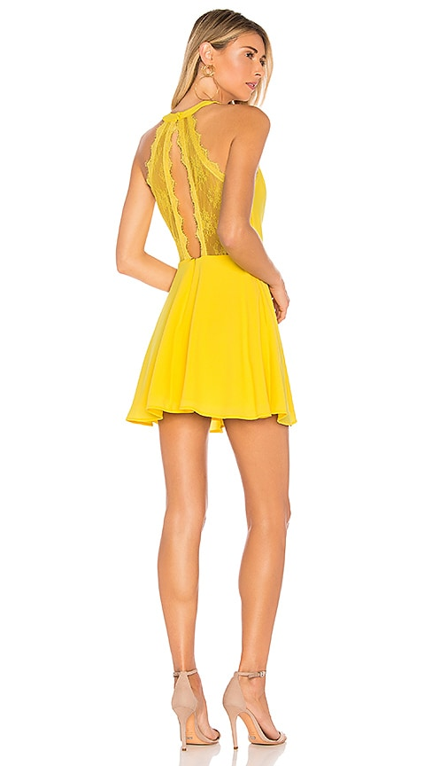 NBD Gimmie More Dress in Yellow