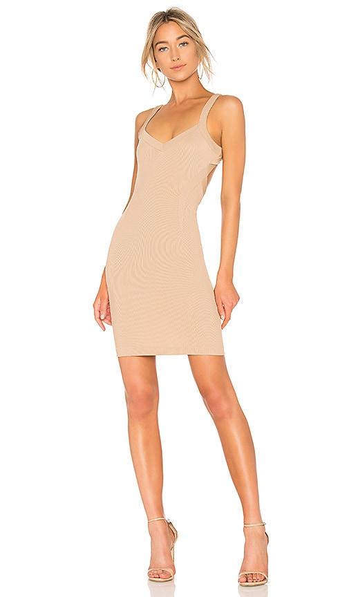 NBD Tracy Dress in Tan
