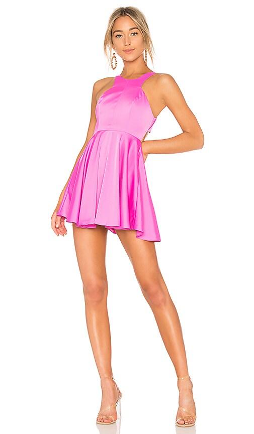 NBD Cheryl Dress in Fuchsia