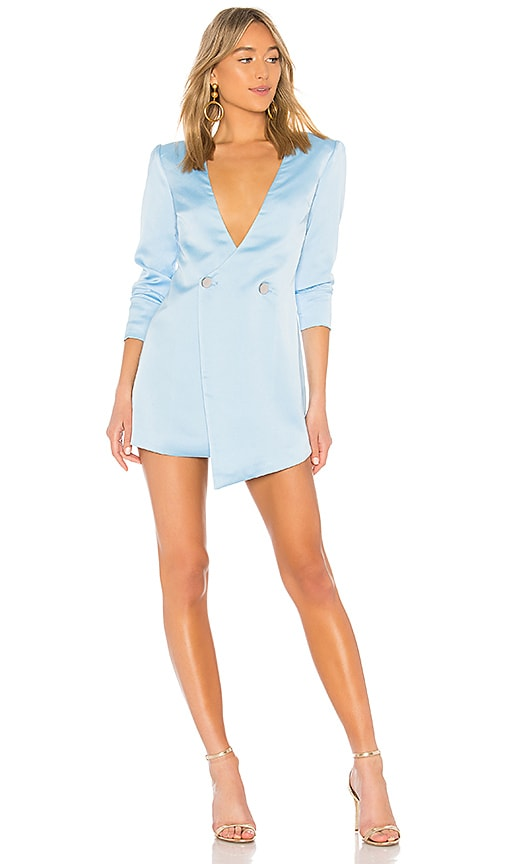 NBD Luke Dress in Baby Blue