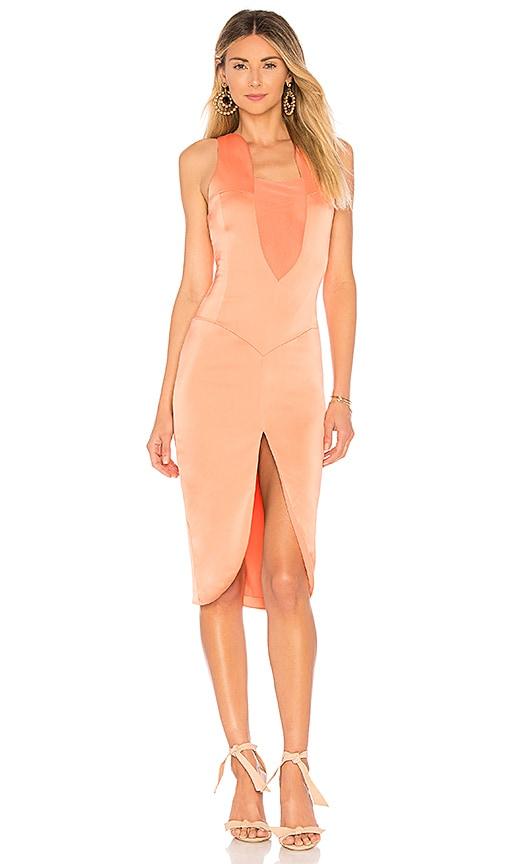 NBD Kimmy Dress in Orange