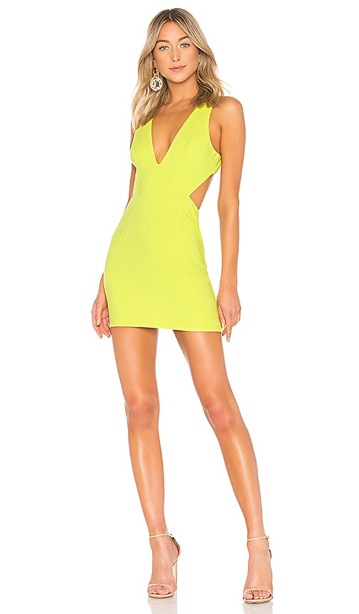 NBD Charlie Dress in Yellow
