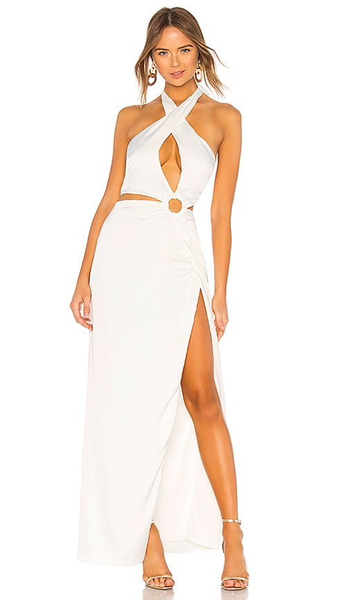 NBD Allure Gown in Ivory | REVOLVE