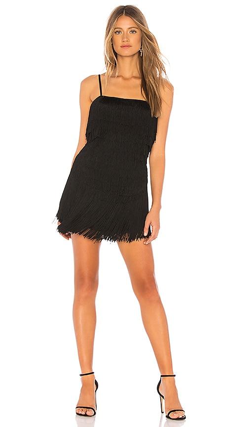 Sunrise Fringe Mini Dress