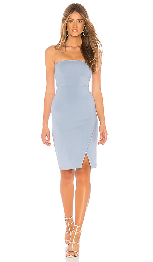 dfd570fd72ea NBD Wailea Midi Dress in Baby Blue