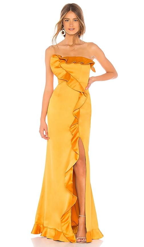 a3efeb5a16f89 NBD Luna Gown in Sunset