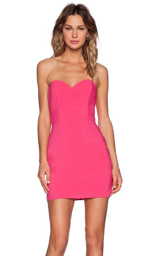 NBD x Naven Twins I Gotta Feeling Dress in Pink
