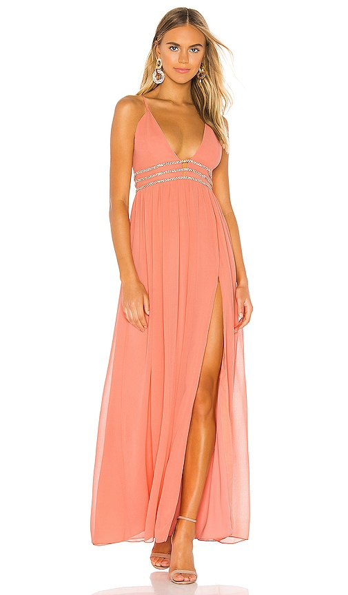 NBD Giavanna Gown in Sorbet Pink | REVOLVE