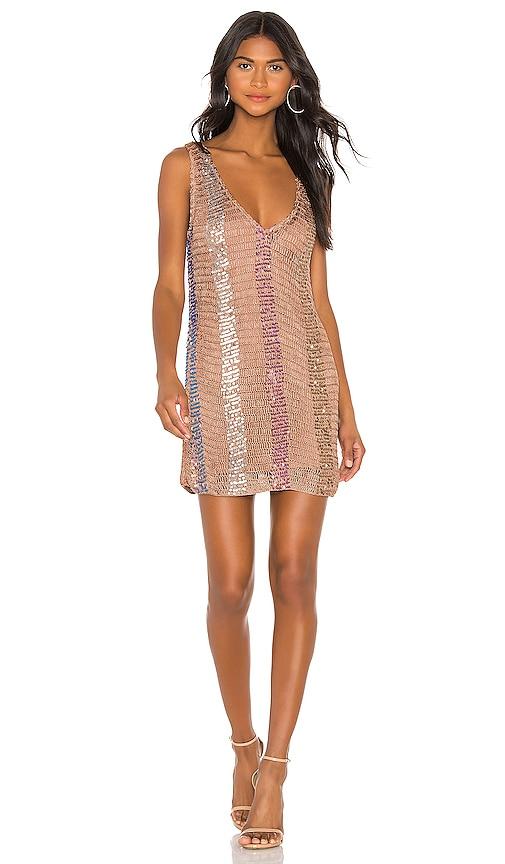 Mosaic Mini Dress