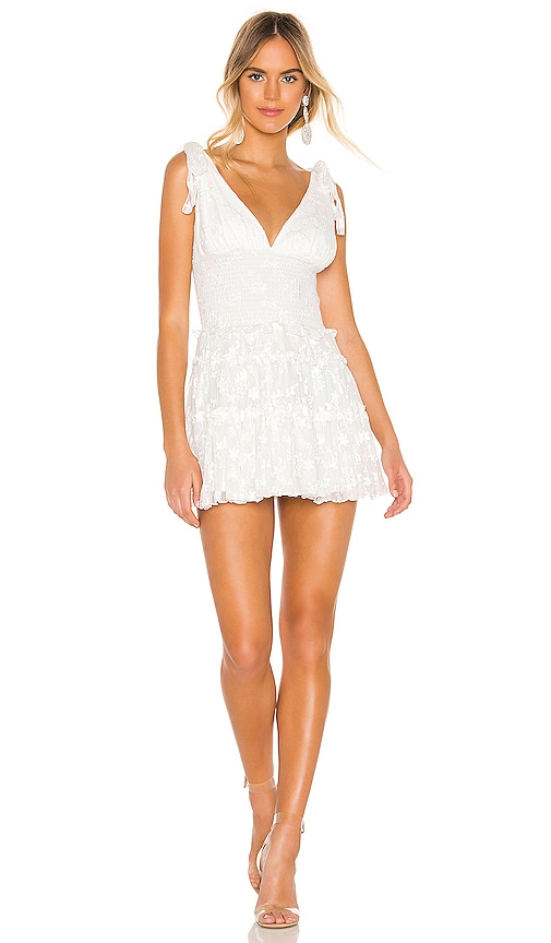 NBD Jimi Mini Dress in Star White | REVOLVE