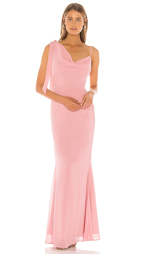 NBD Never Enough Gown in Pink | REVOLVE