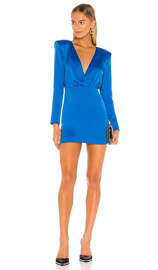 NBD Zindel Mini Dress in Princess Blue   REVOLVE