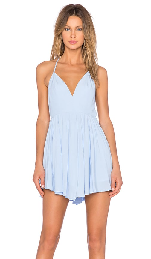NBD x REVOLVE Get Out Dress in Blue