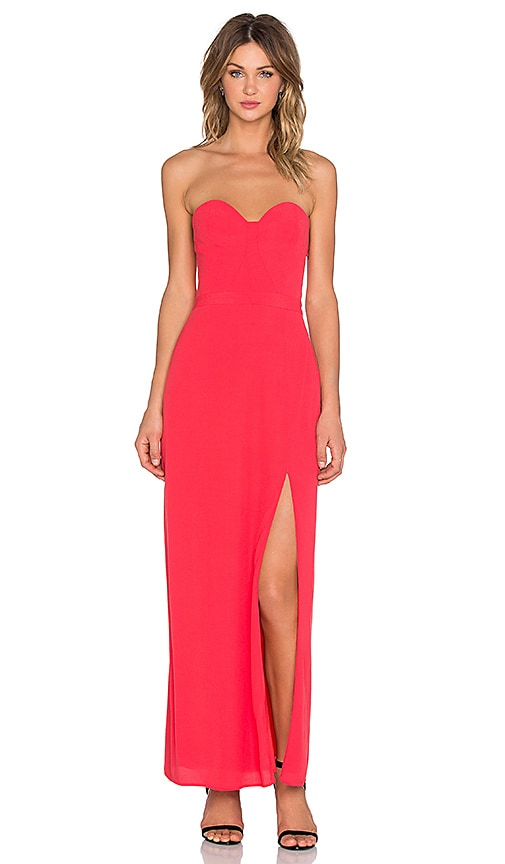 NBD x REVOLVE Wish Maxi Dress in Red
