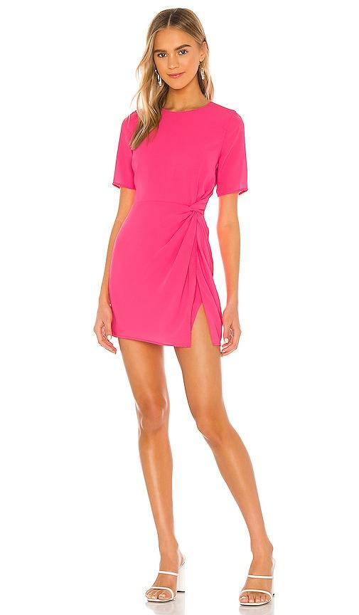 NBD Lottie Mini Dress in Neon Pink | REVOLVE