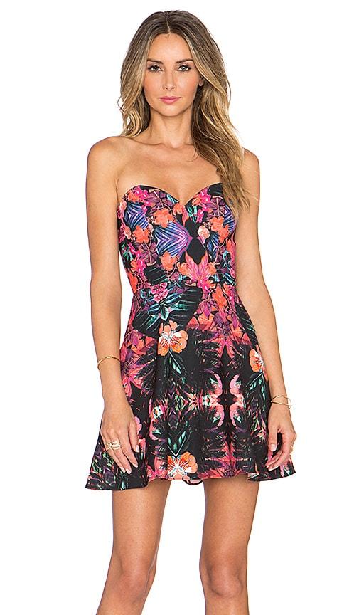 NBD x Naven Twins Disclosure Dress in Tropics Floral
