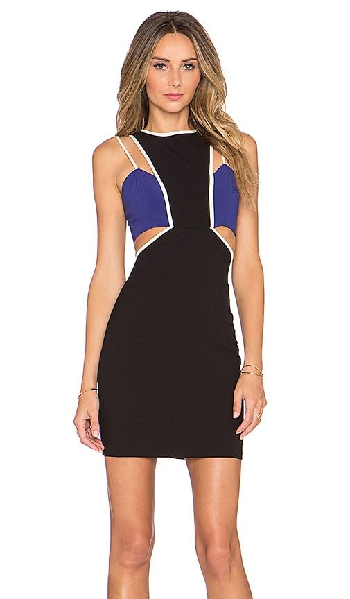NBD x Naven Twins Expense Bodycon Dress in Black