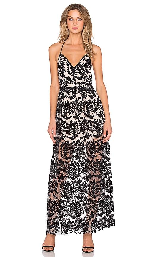 NBD Wildside Maxi Dress in Black