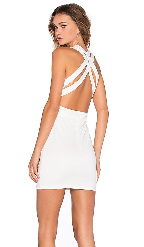 NBD x REVOLVE Late Night Dress in Ivory