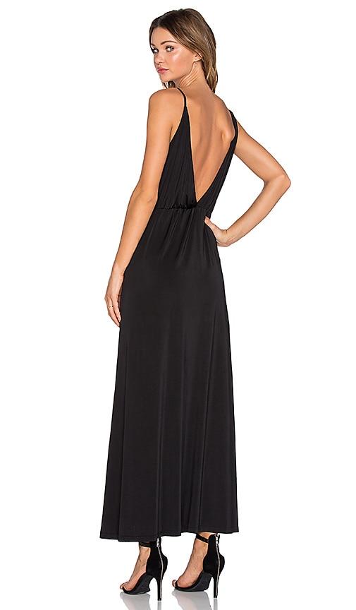 NBD x Naven Twins Nameless Maxi Dress in Black