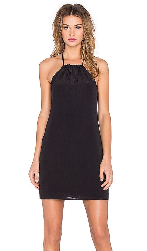 NBD x Naven Twins Hopeless Halter Dress in Black