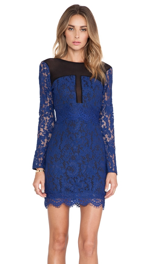 NBD Girls Night Out Dress in Blue