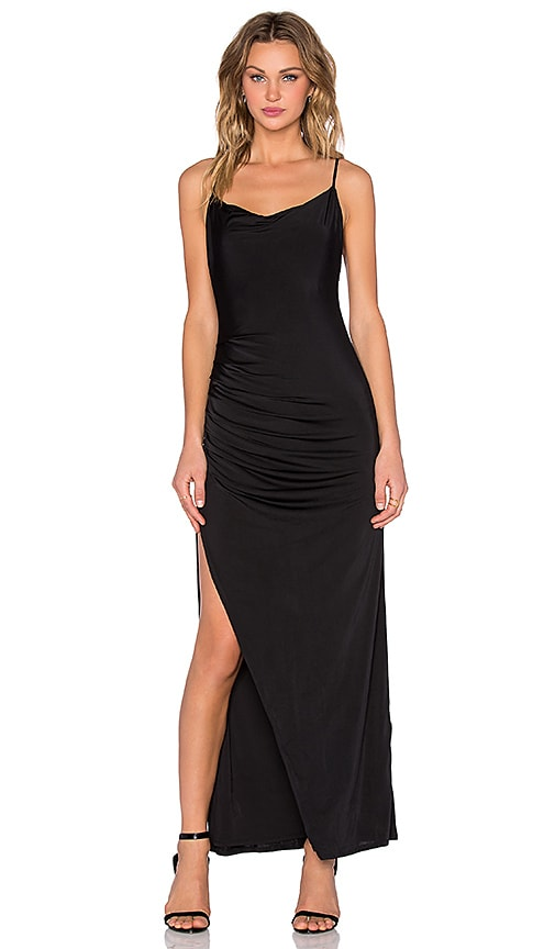 NBD x REVOLVE Take It All Maxi Dress in Black