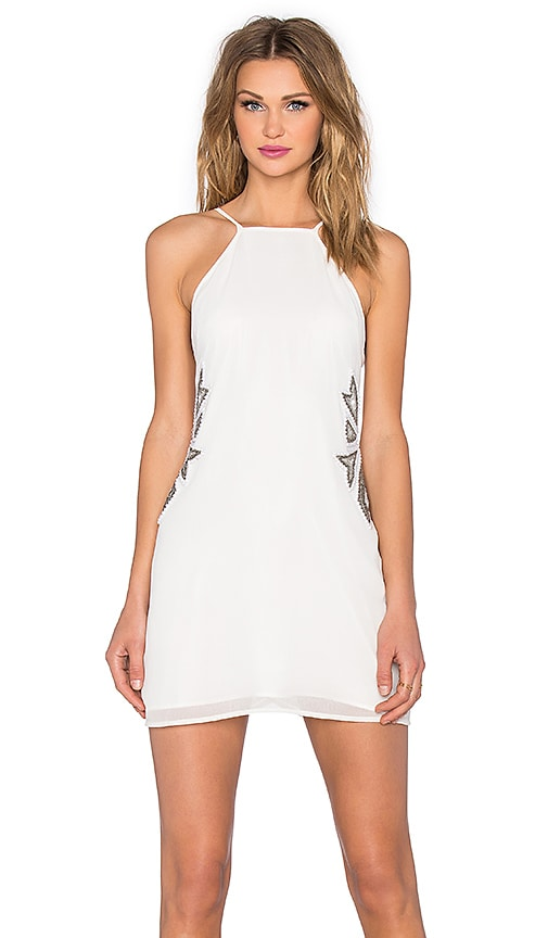 NBD x REVOLVE Wide Eyed Dress in Ivory