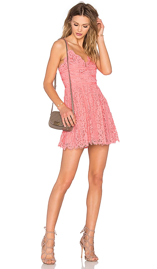 NBD Give It Up Dress in Pink