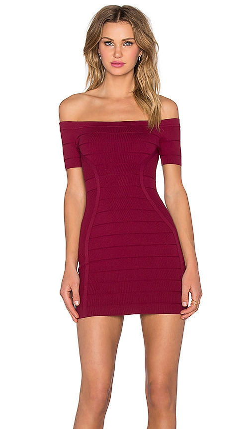 x REVOLVE Off The Shoulder Bandage Dress