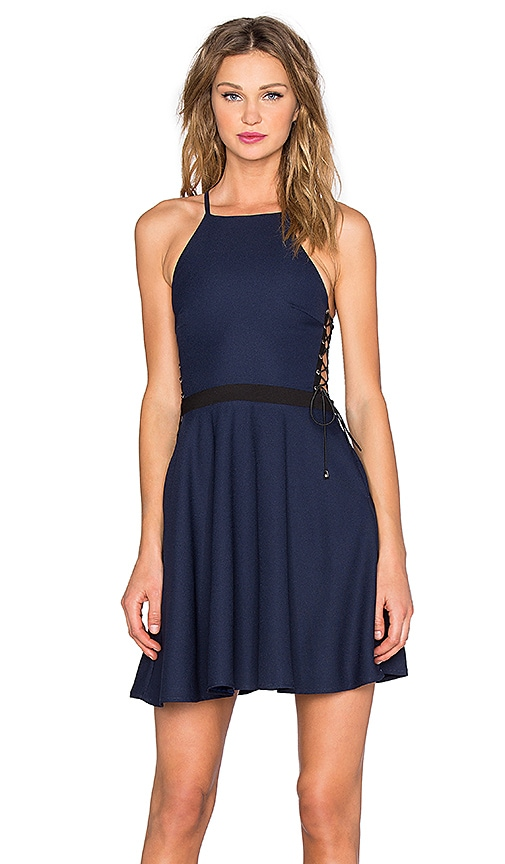 NBD x REVOLVE Fire Escape Dress in Navy