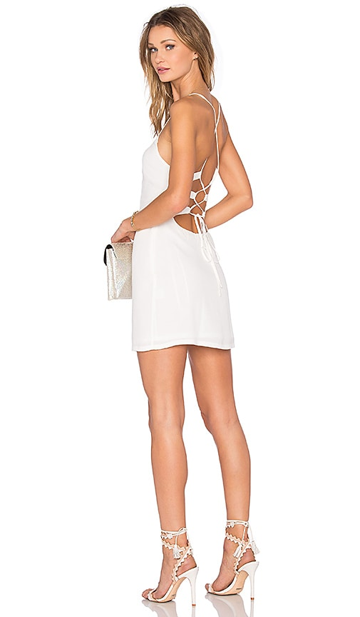 NBD x REVOLVE Lauren Bodycon Dress in White