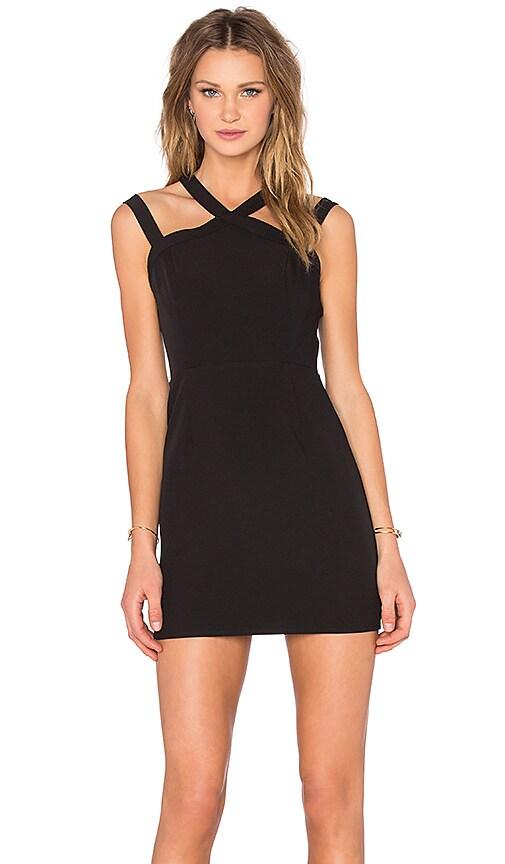 NBD x Naven Twins Electra Bodycon Dress in Black