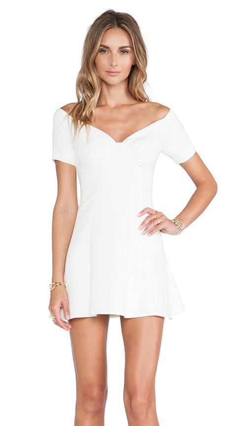 Aldon Mini Dress in Ivory. - size M (also in S,XL) NBD