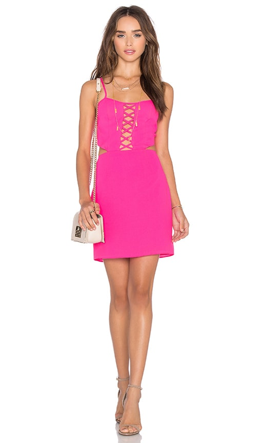 x Naven Twins Waking Light Bodycon Dress