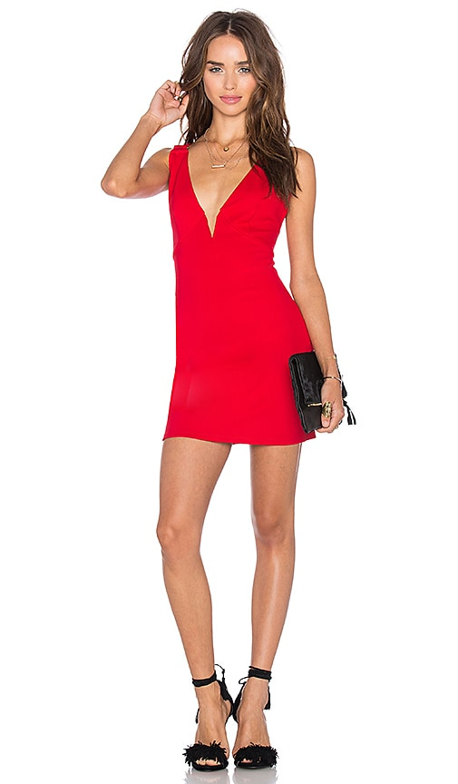 NBD Out of Touch Dress in Red