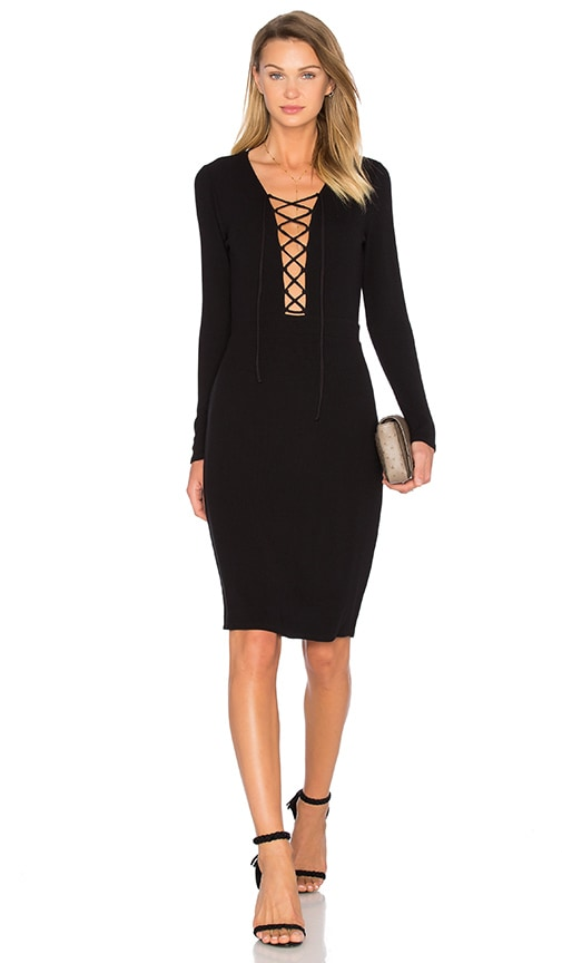 NBD x REVOLVE Survive Midi Dress in Black