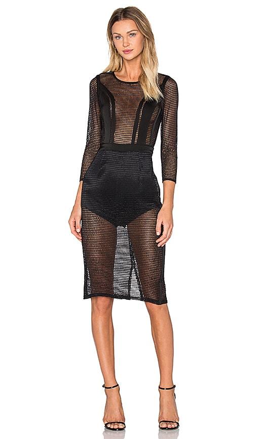 NBD Sabrina Dress in Black