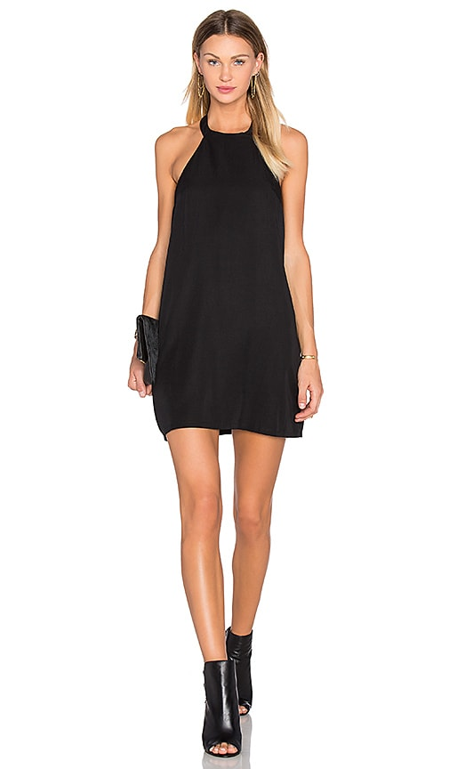 NBD x REVOLVE Don't Turn Back Dress in Black