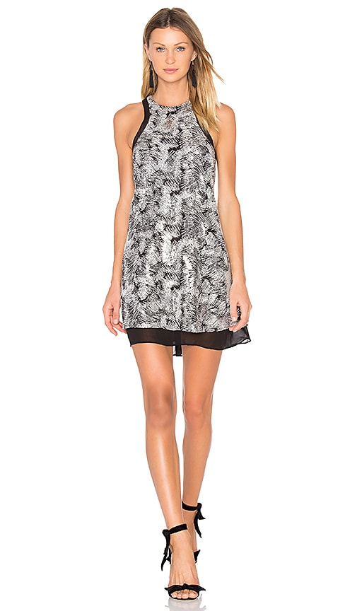 NBD Whitney Shift Dress in Charcoal
