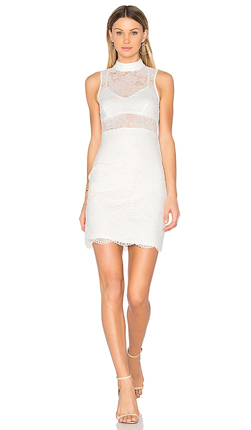 NBD Jules Dress in White