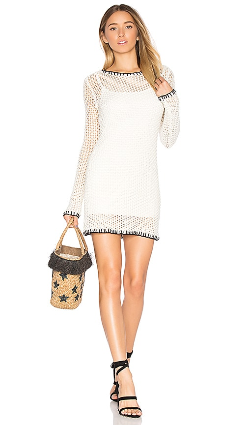 NBD x REVOLVE Tanner Dress in White