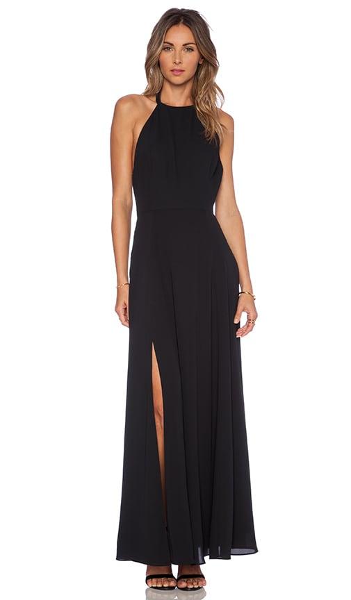 NBD x Naven High Times Maxi Dress in Black